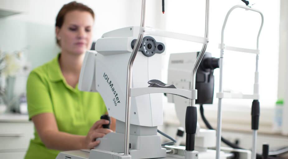 Augenärzte Sindelfingen – Augenheilkunde – IOL-Master