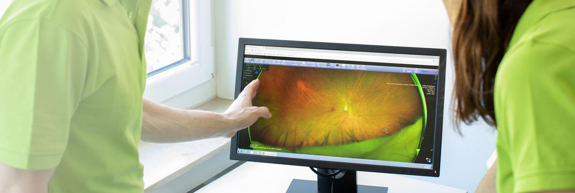 Augenärzte Sindelfingen – Optomap® Netzhautbeurteilung